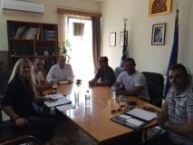 Συνάντηση Δημάρχου με την Ε.Π.Λ.Σ  Β/Δ  Ελλάδος
