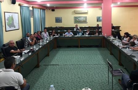 Δελτίο Τύπου: Συνάντηση – συζήτηση Δημάρχου Πάργας με τους φορείς και τους δημότες του Δήμου