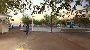 Οριστική έγκριση για την νέα πλατεία Αμμουδιάς